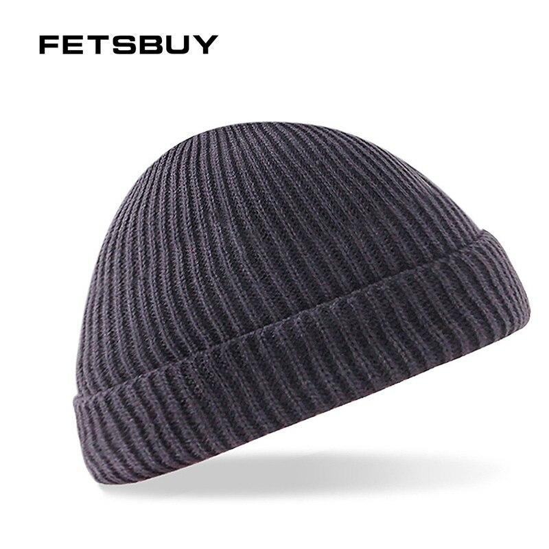 a8f7e6d46bf FETSBUY New Fashion Women Men Knitting Beanie Hip-Hop Winter Warm Caps  Beanies Men Scarf