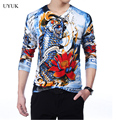 Men's High Quality New Brand Pullover Men 2016 Fashion 3D Print Mens Pull Homme Sweater Slim Comfortable Wool Mens Thin Sweaters