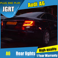 2PCS Car Styling for Audi a6 Taillights 2005 2008 for A6 LED Tail Lamp+Turn Signal+Brake+Reverse LED light