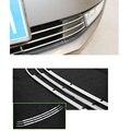 Aço Inoxidável de alta Qualidade Bumper Billet Grille Grill Insert Para Skoda Octavia MK3 A7 2015 2016