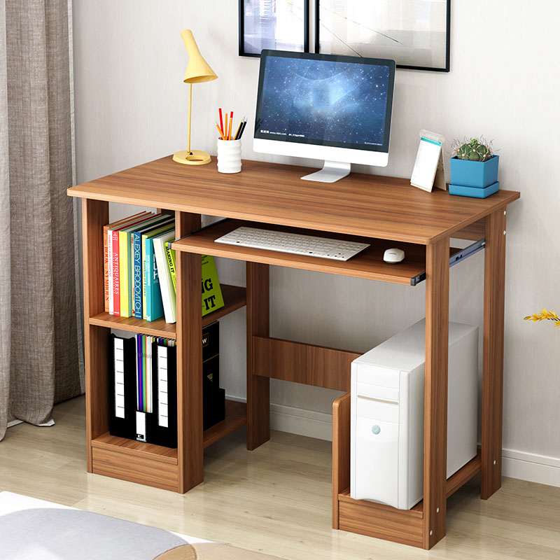 Office Furniture Home Writing Simple Desktop Computer Desk Notebook Computer Desk Bed Learning With Household Folding Mobile Bedside Table Excellent Quality