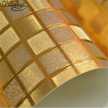 rose gold Kitchen wall paper PVC mosaic wallpaper roll waterproof 3d stickers wallpapers for bathroom home decoration wall paper цена