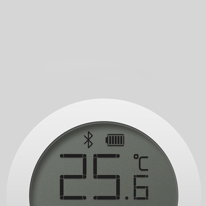 Image 2 - שיאו mi mi jia Bluetooth טמפרטורה חכם Hu mi dity חיישן LCD מסך דיגיטלי מדחום לחות מד mi APP