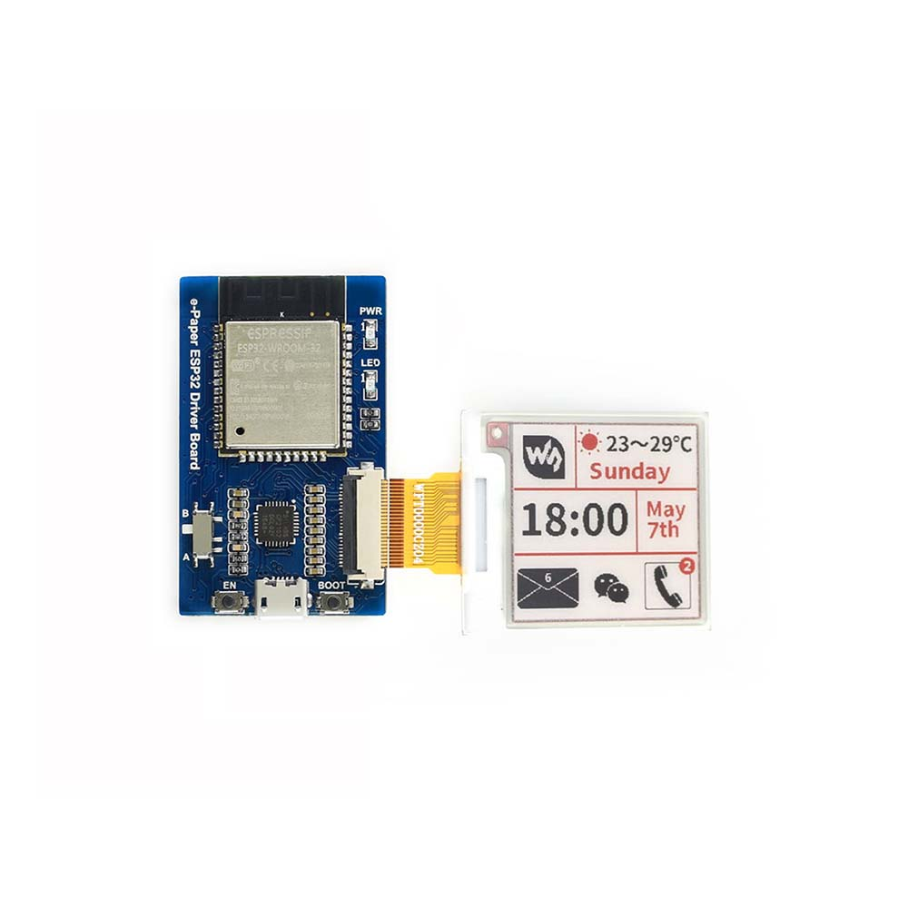 Image 5 - Universal e Paper ESP32 Driver Board for Waveshare SPI e Paper raw panels WiFi / Bluetooth Wireless compatible for ArduinoDemo Board   -