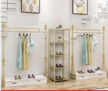 Витрина для магазина одежды напольная полка женской Европейская