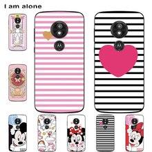 Fundas de teléfono I am alone para Motorola Moto E5 E5 Plus E5 Play Soft TPU, fundas de teléfono móvil bonitas para Moto E5, envío gratis