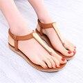 Fashion PU women sandals 2016 Summer cozy women sandals New Arrivals women flat sandals