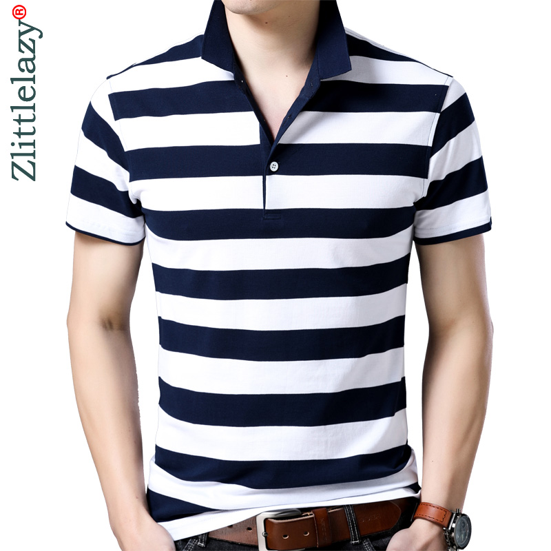 2018 short sleeve bodybuilding tee shirts summer striped pol shirt   polo   men clothes streetwear jersey mens   polos   poloshirt 8181