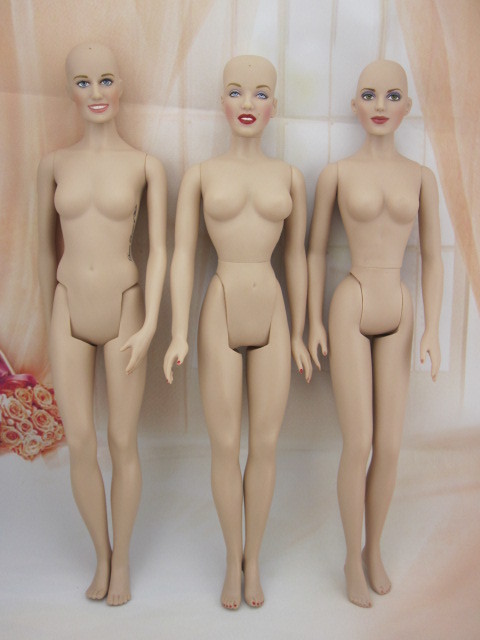 Franklin Mint Limited Edition 1/4 Celebrity Vinyl Scale Model Film Star Manikin Doll DIY Naked Body Monroe Dakota Diana Princess
