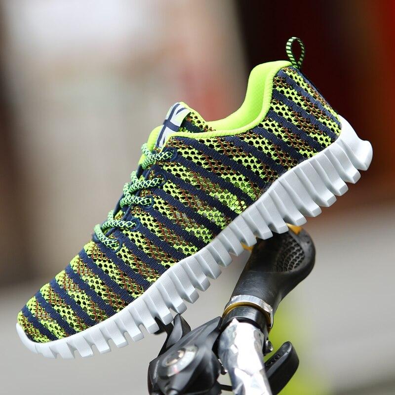 Transpirable Para Hombre Entrenadores Zapatos Casuales 2017 de Verano de Malla d