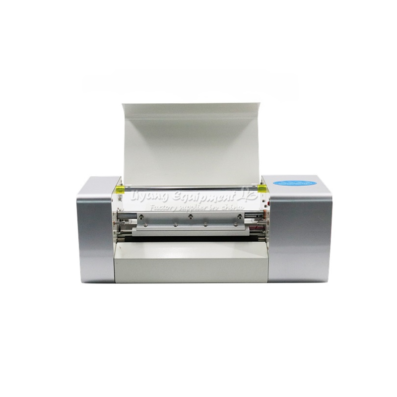 Hot sale model LY 400A foil press machine digital hot foil stamping printer machine for color business card printing hot foil printer machine ly 300 free tax to europe