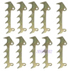 10pcs Felling Dog Bumper Spike Fit Stihl 017 018 023 025 MS170 MS180 MS210 MS250 Part