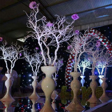 New style Wedding Props Decorations White Coral Tree Branches Ornament Wedding Centerpiece DIY Road Leads 10pcs/lot
