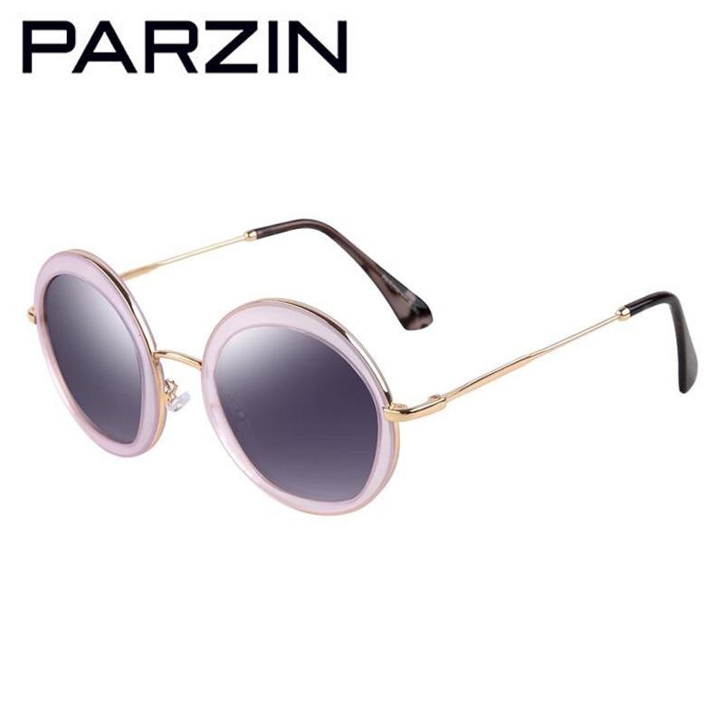 PARZIN Vintage Putaran Sunglasses Wanita Retro Polarized Sunglasses - Aksesori pakaian - Foto 6