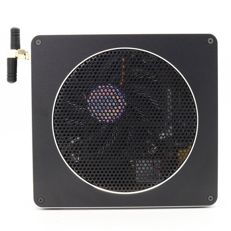 Mini PC Intel Xeon E3-1505M V5 4 Core 8 Threads 2.80 GHz Server Barebone Computer Win10 Pro 16GB DDR3L AC Wifi 4K Mini DP HDMI