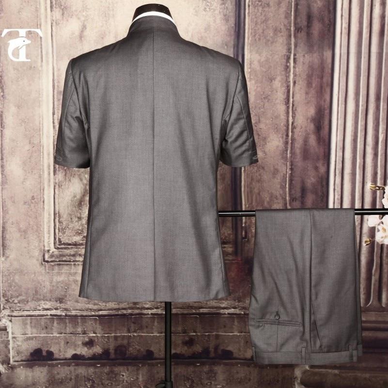 2016 été manches courtes blazer veste en gros vêtements blazer - Vêtements pour hommes - Photo 2