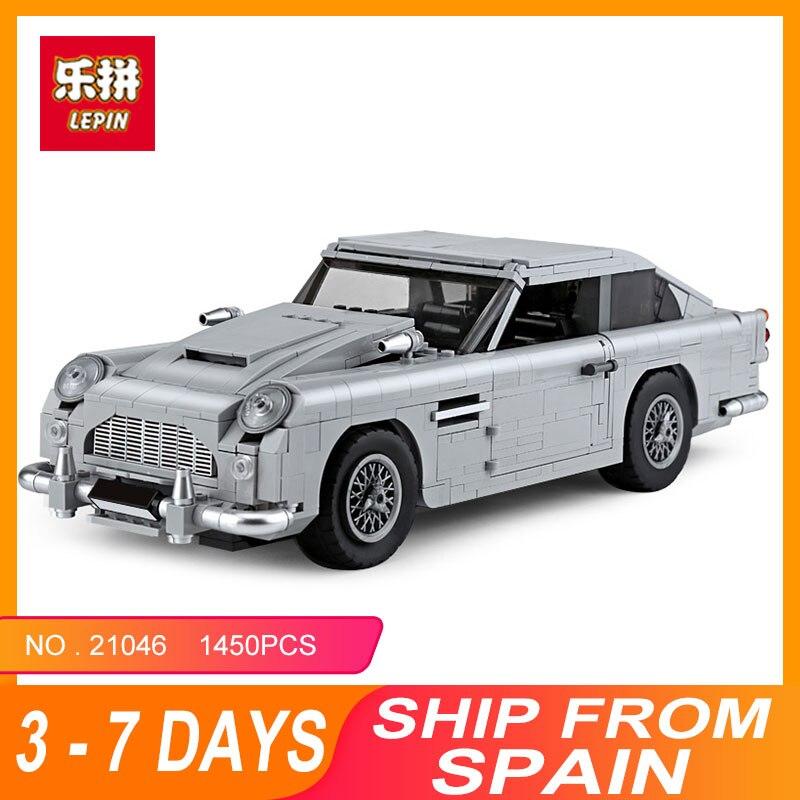 Lepin 21046 Blocs Briques Compatible Legoing 10262 Créateur D'experts James Bond Aston Martin DB5 Modèle de Construction jouets éducatifs