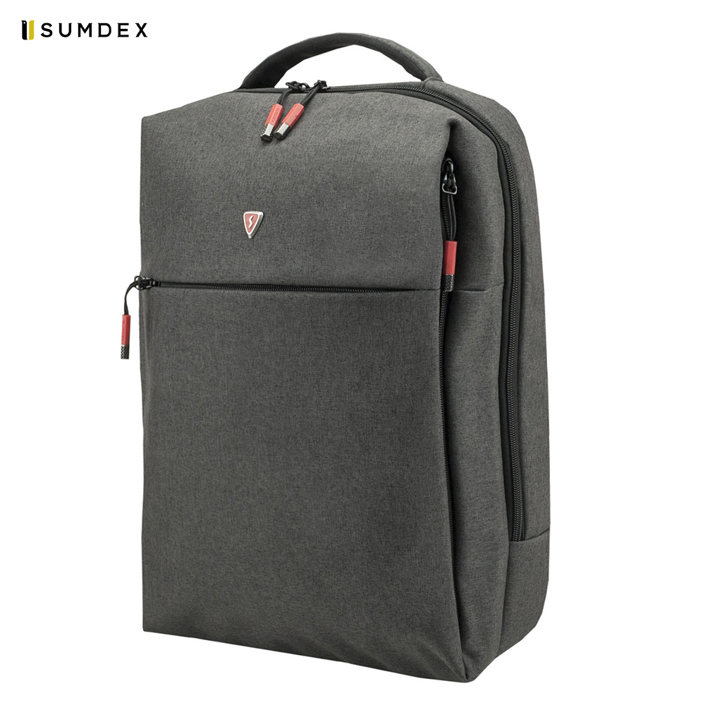 Laptop Bags & Cases Sumdex SUMPON264GY for laptop portfolio Accessories Computer Office for male female for asus n61vn laptop motherboard mainboard fully tested 100% good work 45days warranty