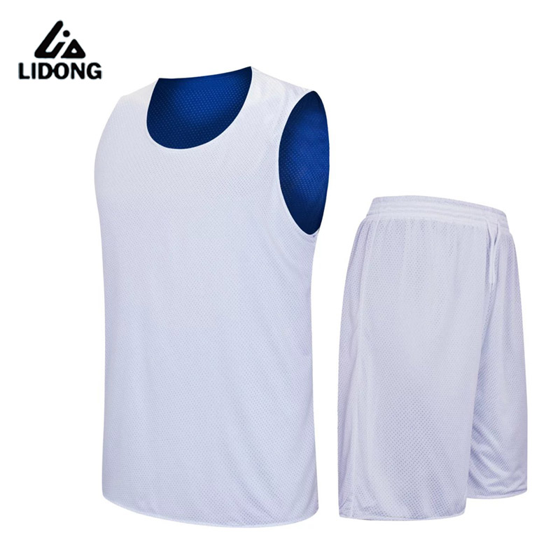 2018 Kids Basketball Jersey sets Uniforms Boys kits Youth Child Sports Training suit Shorts Reversible Quick Dry jerseys shirts