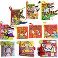 Милый мультфильм детские игрушки для малышей раннего развития животных мягкая ткань книги для ребенка детей обучение образование история книги