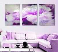 2016 Painting By Numbers Fallout Canvas Painting 3 Piece Wall Art Lover Flower Big Perfect Canvas