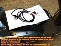 4 anos de garantia Universal Motos ATV UTV E-BIKE interruptor rodada Assento De Fibra De Carbono Aquecedor almofada aquecida