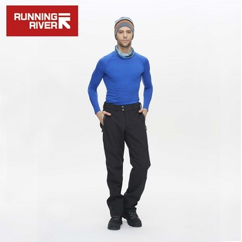 RUNNING RIVER Brand Hiking Pants For Men Size S – 3XL Ship From Russia & China Warm Winter High Quality Camping Pants #P4457