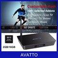 Amlogic S912 OCTA Core Android 6.0 TV Box 2GB / 16GB 5G Wifi Customized Kodi Fully Loaded With Live TV Sports 4K Set Top Box