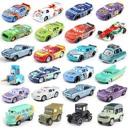 Disney zabawka Pixar 3 zygzak McQueen rodzina wyścigowa 39 Jackson Storm Ramirez 1:55 odlew stop metali zabawkowy samochód dla dzieci