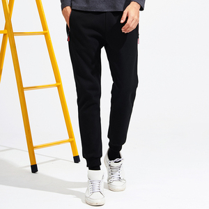 Image 2 - Pioneer Camp New thicken warm sweatpants men brand clothing casual winter fleece casual pants male quality 100% cotton AWK702321