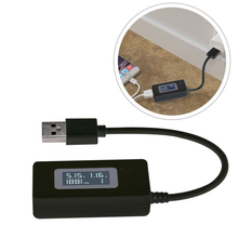 Phone Pad QC2.0 5V 9V 12V USB Voltage Tester Power Detector Current Meter