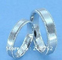 Bague en argent pour hommes, bagues de fiançailles, bagues de mariage, bijoux de Couple, 925 Sterling - 2