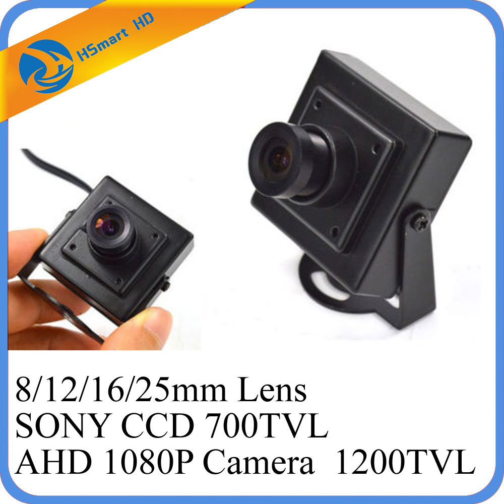 New Arrival Mini AHD 2 0MP 1080P CCTV Camera High Resolution Sony Effio E 700TVL 25mm