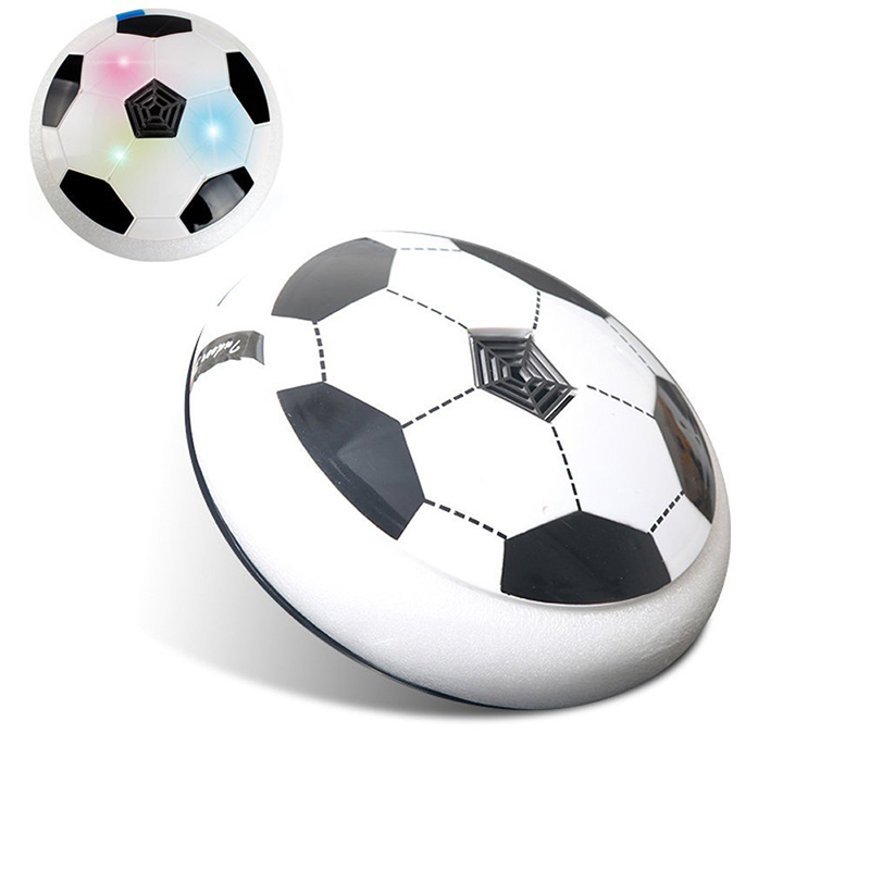 Hot Hover Ball LED Light Flashing Arrival Air Power Soccer Disc Indoor Football Toy Multi-surface Hovering Gliding Toys for Boys