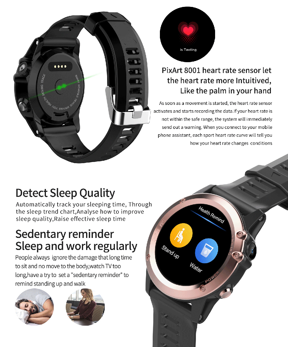 US $96 0 36% OFF|ITORMIS IP68 Waterproof Android GPS Smart Watch Smartwatch  Wristwatch 3G SIM WiFi Sport Fitness 5MP Camera Water Resistant H1-in