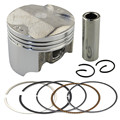 Brand New Bore Size 55.50mm Piston & Rings Kit For HONDA CB400 VTEC / CB 400 CB-1 CB400SF NC31 NC36 ( Oversize 0.5mm)