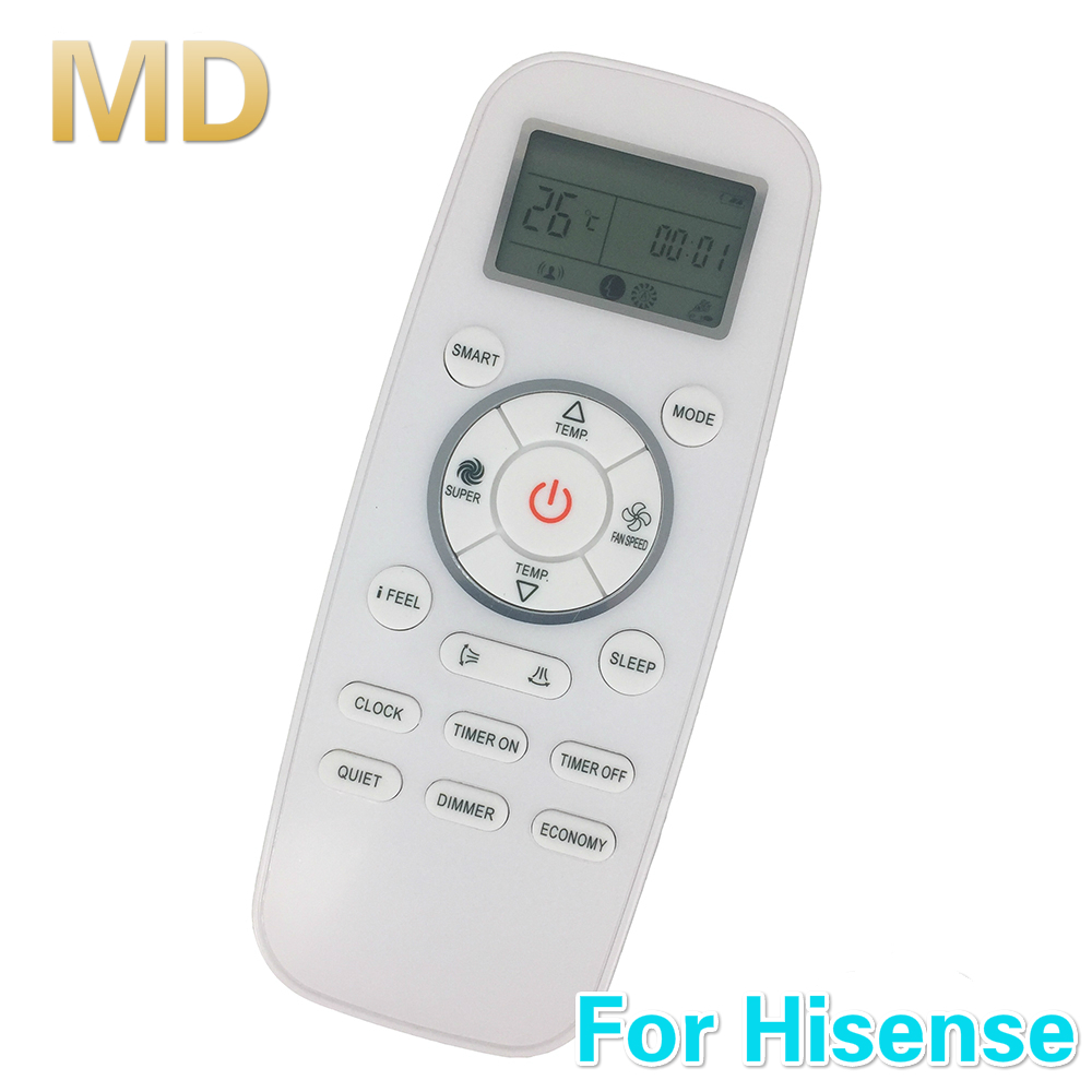 Us 6 79 20 Off New Replacement Dg11l1 01 Fit Dg11l1 03 Universal For Hisense For York Air Conditioning Remote Controlmando A Distancia In Remote