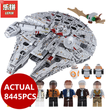 ФОТО lepin 05132 star toy wars series 8445pcs ultimate collector destroyer 75192 construction blocs bricks kids boy birthday gifts