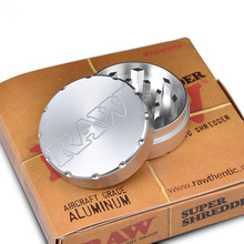 1 Stücke neue Ankunft Dia.50 cm 2 Schichten Hand Tabak Spice Grinder Grinder mit Logo
