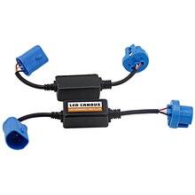 Led di errore Gratuito CANBUS Super-Decoder H1 H4 H7 H11 9005 9006 HB2 Adattatore Anti-Sfarfallio Per LED Auto lampadina del faro Kit Fari Fendinebbia