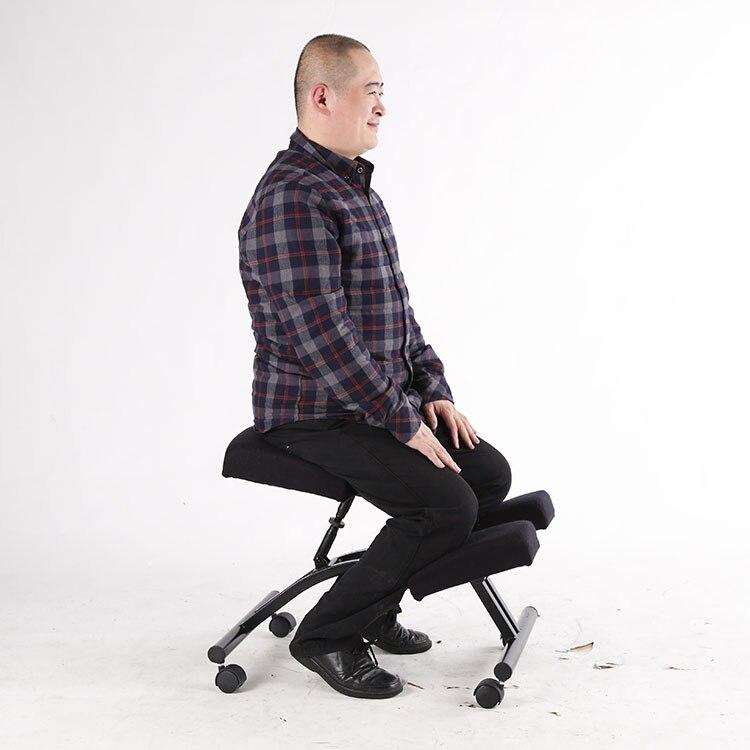 Ergonomisch Gestaltete Knie Stuhl mit Rollen und Memory schaum Büro ...