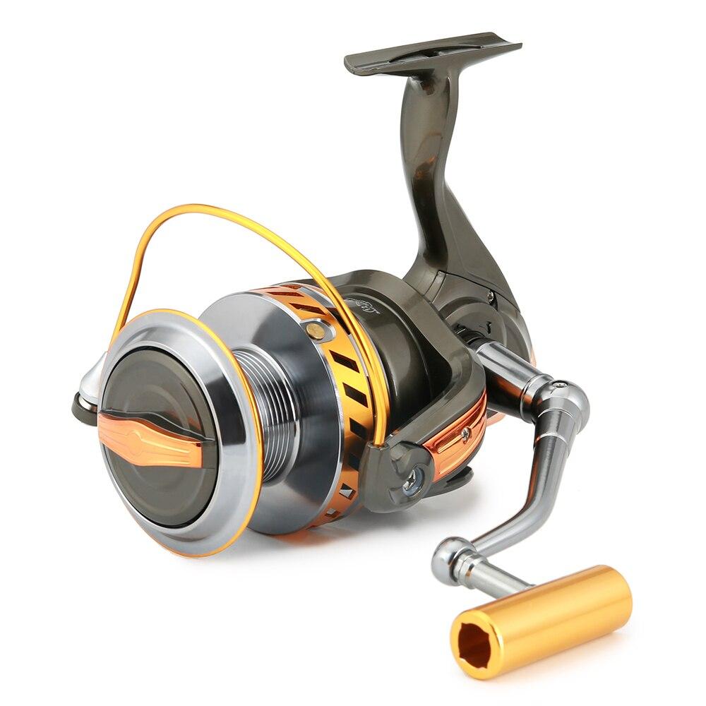 1X metal handle fishing reel crank crank arm spinning reel fishing reel winF Pn