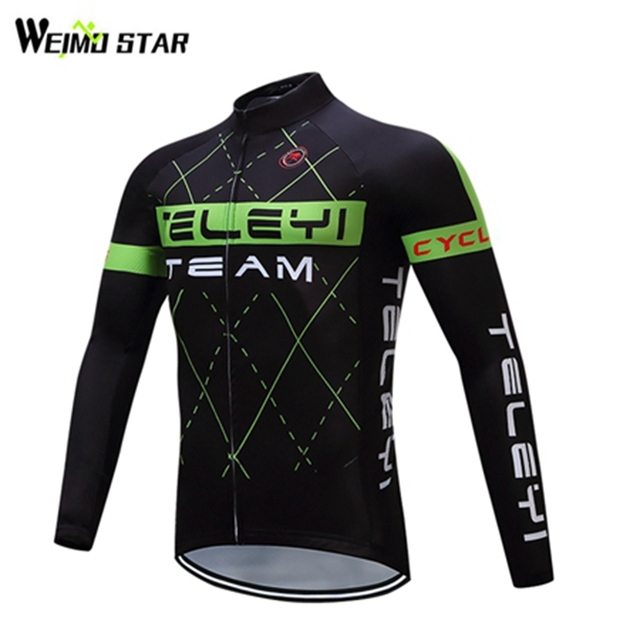 9a5d23d88 Weimostar Men ciclismo bicicleta Pro Team cycling jersey 2017 Autumn long  sleeve MTB Bike Bicycle Clothing maillot ciclismo
