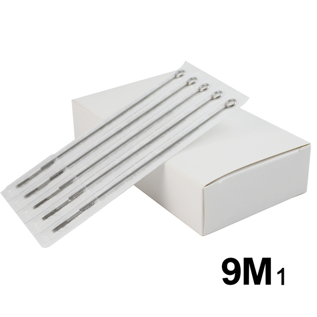 50PCS Disposable 9M1 Tattoo Needles For Permanent Makeup Forever ...