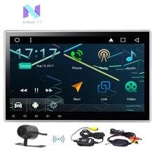 """Eincar 10.1 """"Android 7.1 автомобиль Радио стерео Универсальный 2din головное устройство Регулируемый угол Поддержка быстрой загрузки GPS СБ nav dab + 3G 4 г WI-FI"""
