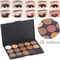 Maquiagem 15 Earth Color Matte Pigment Glitter Eyeshadow Palette Waterproof Cosmetic Makeup Set Eye Shadow Palette For Women