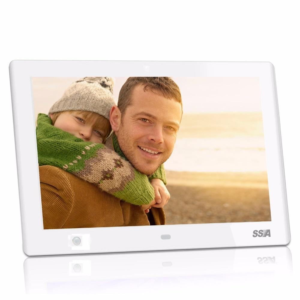 10,1 zoll Digitaler Bilderrahmen Mit Uhr Foto MP3 MP4 Film Player ...