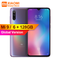 Global Version Xiaomi Mi9 Mi 9 6GB 128GB Cellphone Snapdragon 855 Octa Core 6.39 FHD Screen 48MP Image Sensor Smartphone
