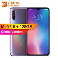 "Globale Version Xiao mi mi 9 mi 9 6GB 128GB Handy Snapdragon 855 Octa Core 6,39 ""FHD bildschirm 48MP Bild Sensor Smartphone"
