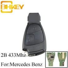 Умный Автомобильный ключ bhkey для mercedes benz 2 кнопки 433